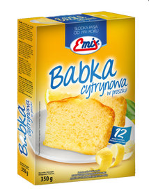 EMIX babka cytrynowa w proszku 350g