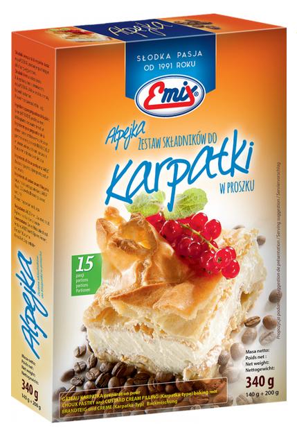 EMIX Alpejka zestaw składników do Karpatki w proszku
