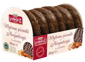 Pyszne pierniczki z Norymbergi w czekoladzie