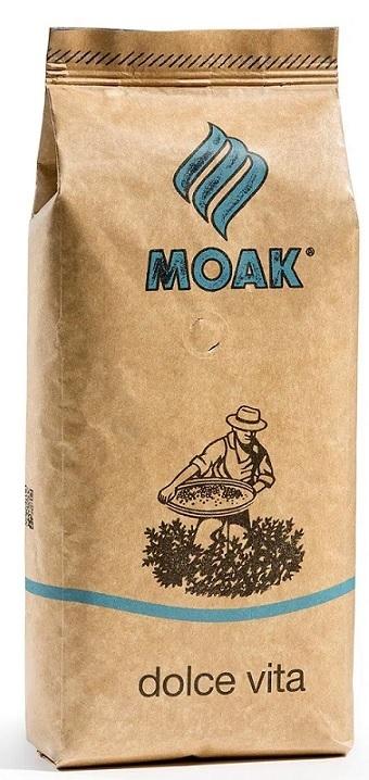Włoska kawa ziarnista MOAK Dolce Vita 100% Arabica
