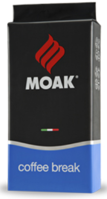 Włoska Kawa Coffee Break MOAK ziarnista 60% Arabica 40% Robusta