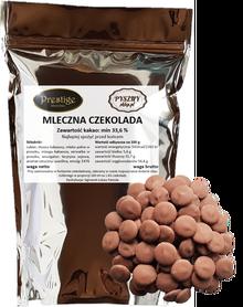 Pyszna Mleczna czekolada do fontann i fondue