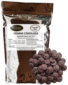 Ciemna czekolada do fondue